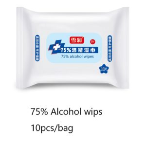 Private Label 75 Isopropyl Alcohol Wet Wipes